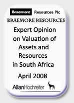 Braemore Resources Expert Opinion