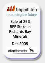 Richards Bay Minerals Valuation