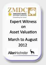 ZMDC - Expert Witness on Asset Valuation, March - August 2012